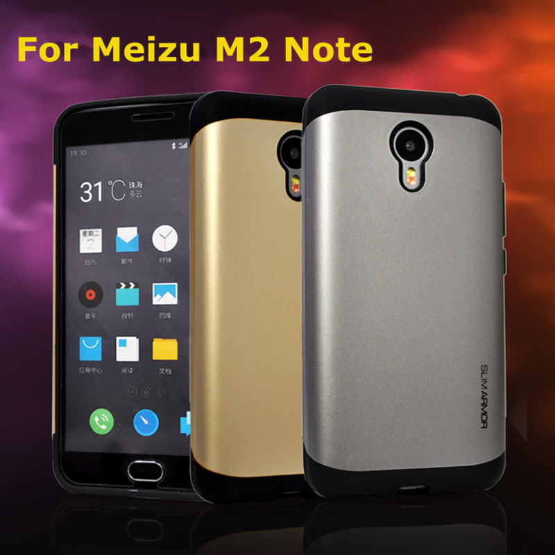 "Гаджет  Meizu M2 Note Case High Quality Brand New TPU + PC Protective Case Back Cover w For 5.5"" Meizu M2 Note smart cellphone+In Stock None Телефоны и Телекоммуникации"