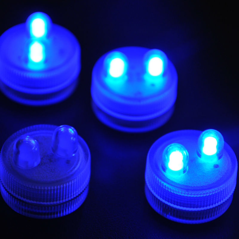 10pcs lot facotry direct decoration small battery operated mini led submersible light on. Black Bedroom Furniture Sets. Home Design Ideas