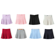 Buy New Women Lady Cute High Waist Plain Skater Flared Pleated Short Mini Skirt Shorts High Comfortable for $8.30 in AliExpress store