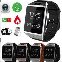 ถูก ฟรีDHL 4ชิ้น3กรัมNFC Wifi GPS Dual Coreสมาร์ทนาฬิกาโทรศัพท์อัจฉริยะMOMITIME MT-08 Android 4.2ซิมบลูทูธ3D GSM S Mart W Atch