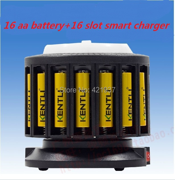 Free shipping SUPER PACK 16pcs 1.5V AA 2400mWh Lithium Li-ion Li-polymer Rechargeble Battery + Multi-fuctinal Quick charger<br><br>Aliexpress