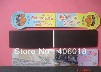 Quality Authentic promotion Paper Magnetic Bookmark  --- DH3978