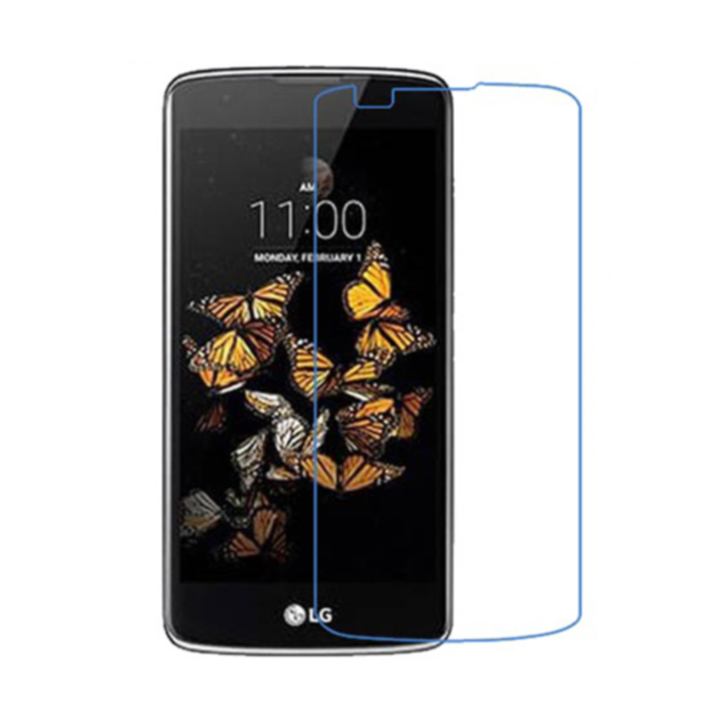 9H2.5D 0.3mm Premium Tempered Glass HD Screen Protector For LG K8 Mobile phone Toughened Protective Film 5.0Inch free shipping(China (Mainland))