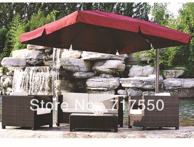 metal frame ,PE rattan furniture ,PE rattan sofa ,outdoor furniture ,RS102