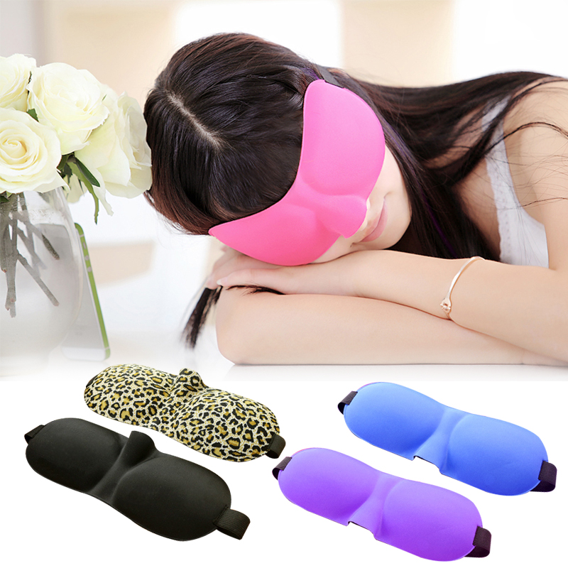 Sleeping Eye shade Sleeping mask Rest Aid 3D Portable Soft Travel Eye shade 1 PCS Cover Eye Patch A2