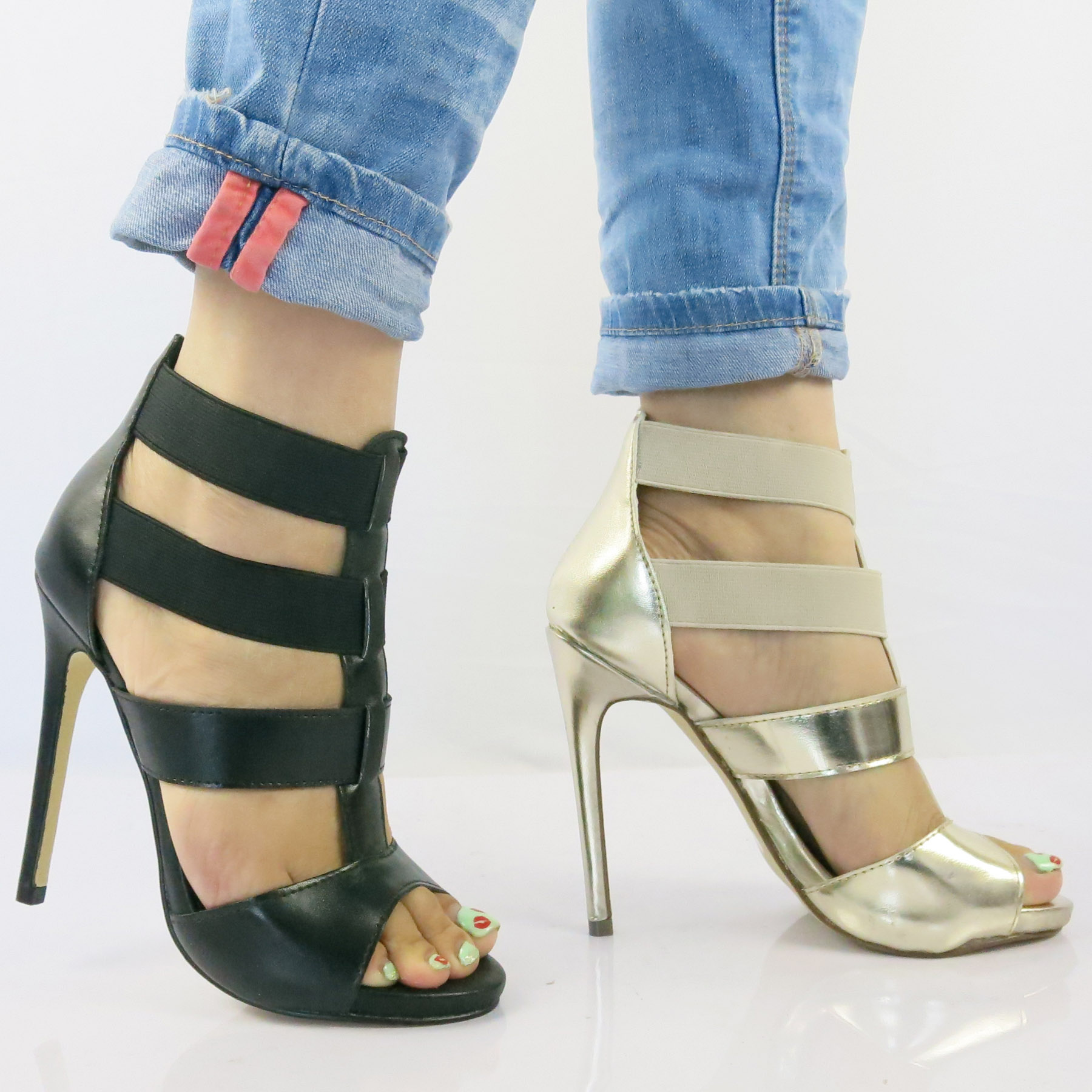 sandale a talon sexy gladiator sandals women shoes high. Black Bedroom Furniture Sets. Home Design Ideas