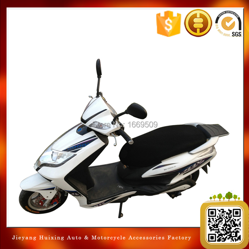 3d motorcycle seat cover scooter motorbike waterproof cushion pad net black XXXL seat covers(China (Mainland))