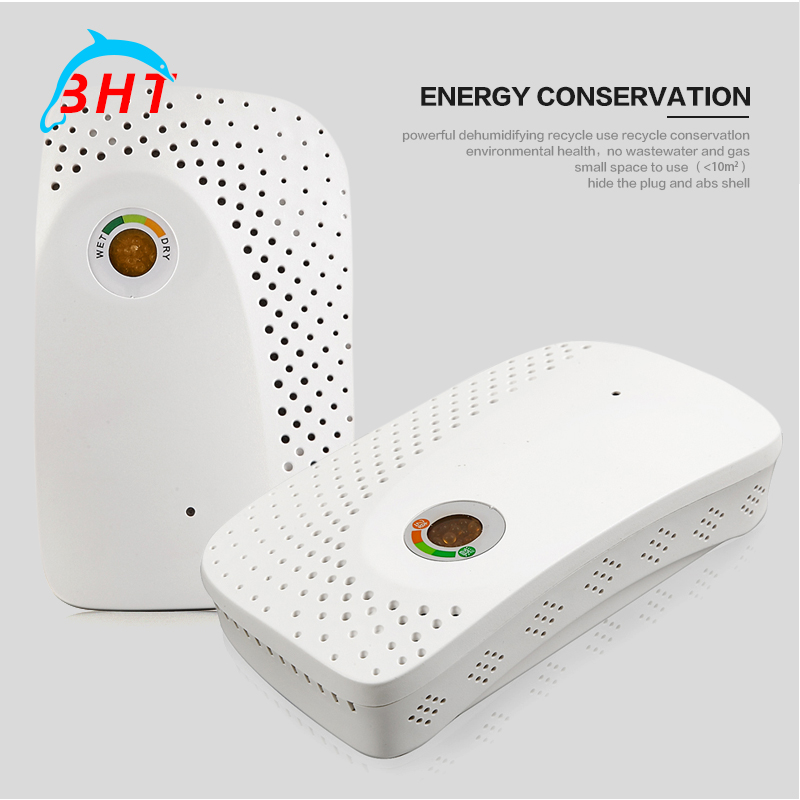 5ps By DHL Mini Wireless Rechargeable Dehumidifier With EU/US/UK Plug Air Dryer For Home Office Bathroom Trunk Shoebox Cupboard(China (Mainland))