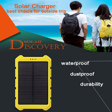 Solar Power Bank 10000 mah Portable Power Bank Waterproof Solar Battery Solar Charging for All Cell Phones like Samsung iPhones