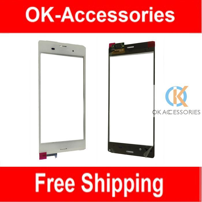 1 PC/Lot For Sony Ericsson Xperia Z3 D6603 Touch Screen Digitizer Touch Panel Black White Color Over 10PCS US $ 10.5/PC