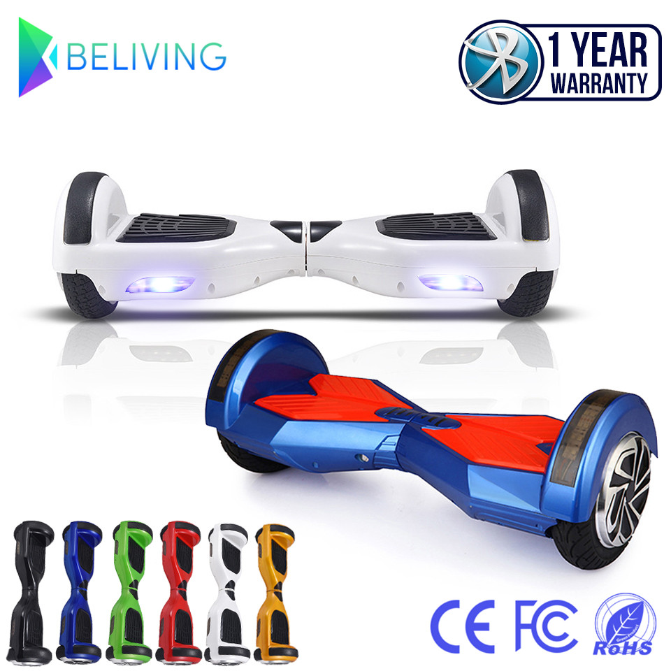 Hoverboard Skateboard Bluetooth 8 Inch Smart Balance 2 Wheel Electric Standing Scooter Unicycle Oxboard Overboard Hoover Board(China (Mainland))