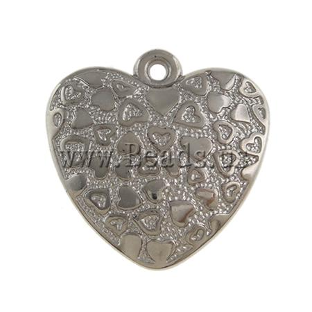Free shipping!!!Copper Coated Plastic Pendant,Designer Jewelry 2013, Heart, platinum color plated, nickel, lead &amp; cadmium free<br><br>Aliexpress