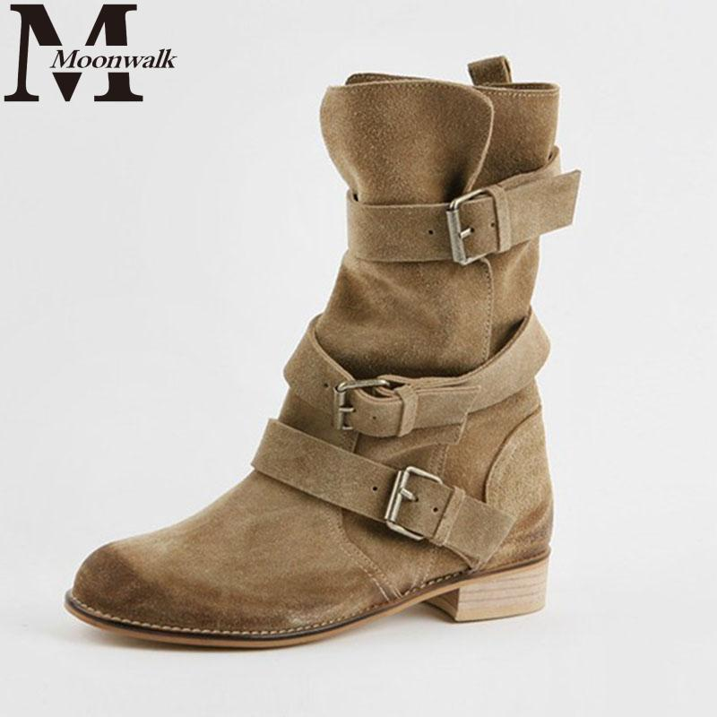 2015 autumn winter ankle boots for women genuine leather
