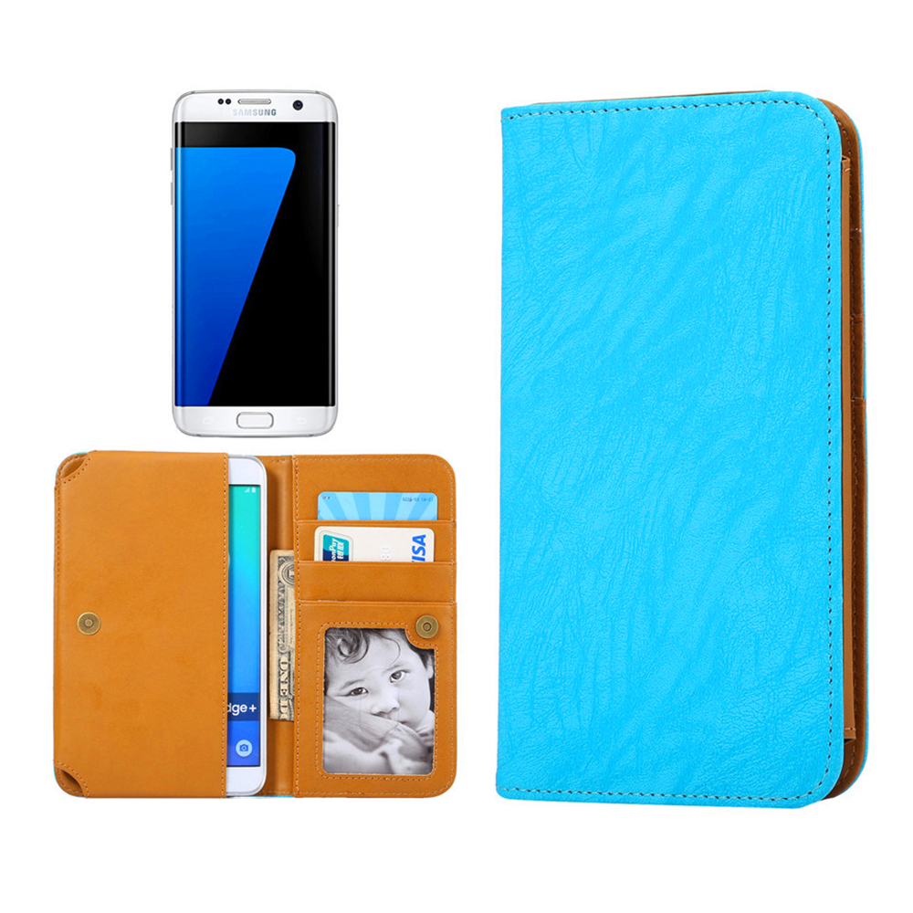 Samsung Galaxy Exhibit,SGH-T599 Case 2016 Hot Leather Protection Phone Case With 5 Colors And Card Wallet(China (Mainland))
