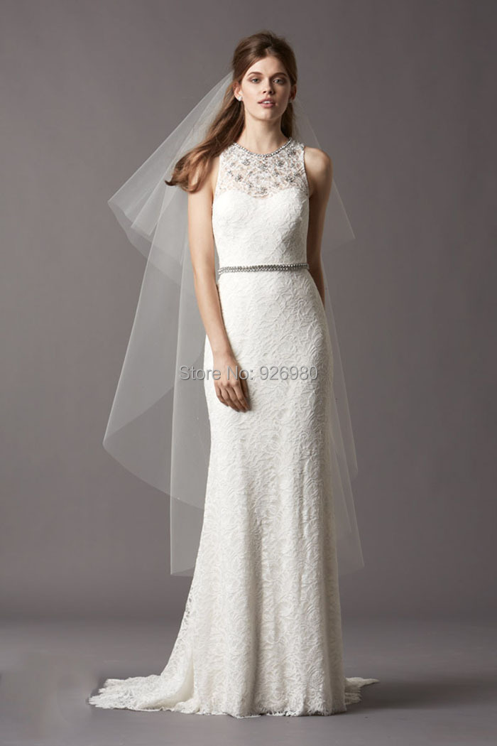 Vestidos de noiva em renda vintage lace wedding dresses for Western vintage wedding dresses