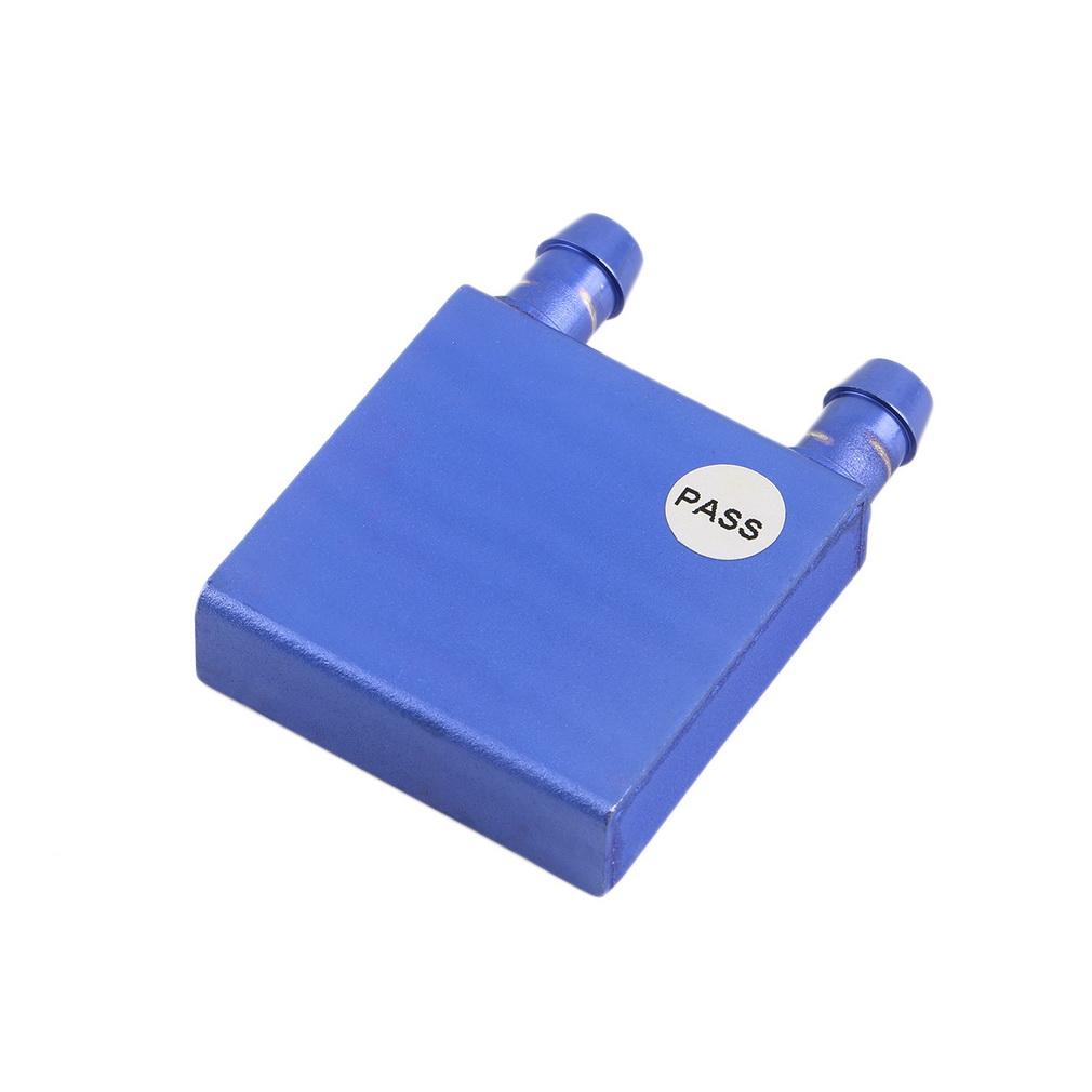 Auminum Water Cooling Block 40x40x12mm Liquid Cooler Waterblock radiator water cooler for GPU CPU cooling Brand New(China (Mainland))
