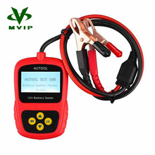 2016 Super Oringinal AUTOOL BST-100 BST100 Battery Tester with Portable Design Directly Detect Bad Cell Battery Free Shipping(China (Mainland))