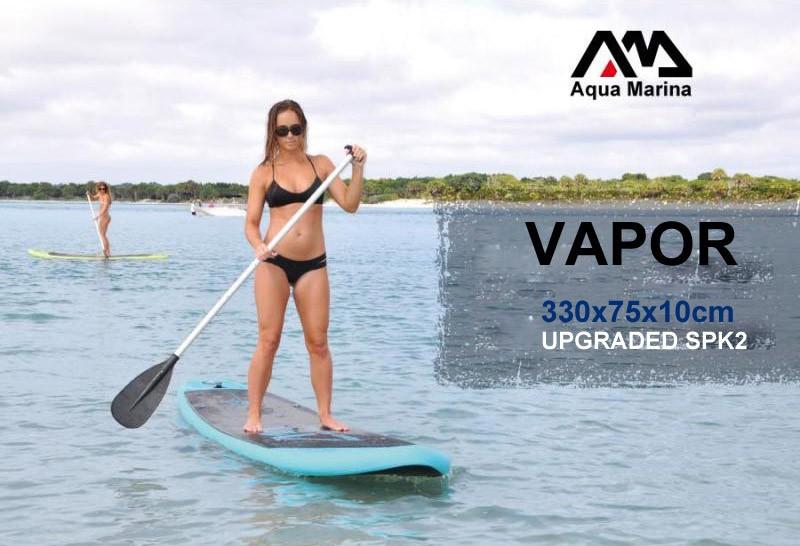 AQUA MARINA 11 feet VAPOR inflatable sup board stand up paddle board inflatable surf board surfboard,inflatable boat330*75*10cm(China (Mainland))