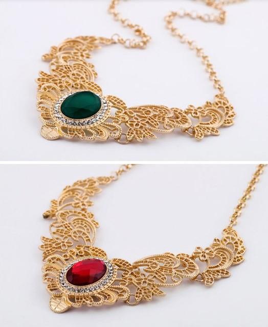 [Min. 6$]2015 New Design Fashion New Gorgeous Bib Necklace Chocker  for Women Free Shipping