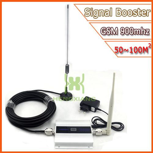 LCD GSM Booster 2G Cell Phone GSM Signal Booster 900mhz Mobile Signal Repeater Cellular Amplifier with Antenna Wholesale(China (Mainland))