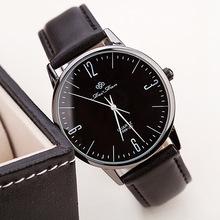 2015 nueva caliente venta la famosa marca men ' s reloj de cuero banda de cuarzo reloj de pulsera relogio hombre casual mujer montre femme