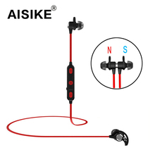 Buy AISIKE Sports Running Bluetooth Headset Wireless Bluetooth 4.1 Stereo Sport In-Ear Earbuds Built-in Mic Free Smart Earphones for $11.09 in AliExpress store