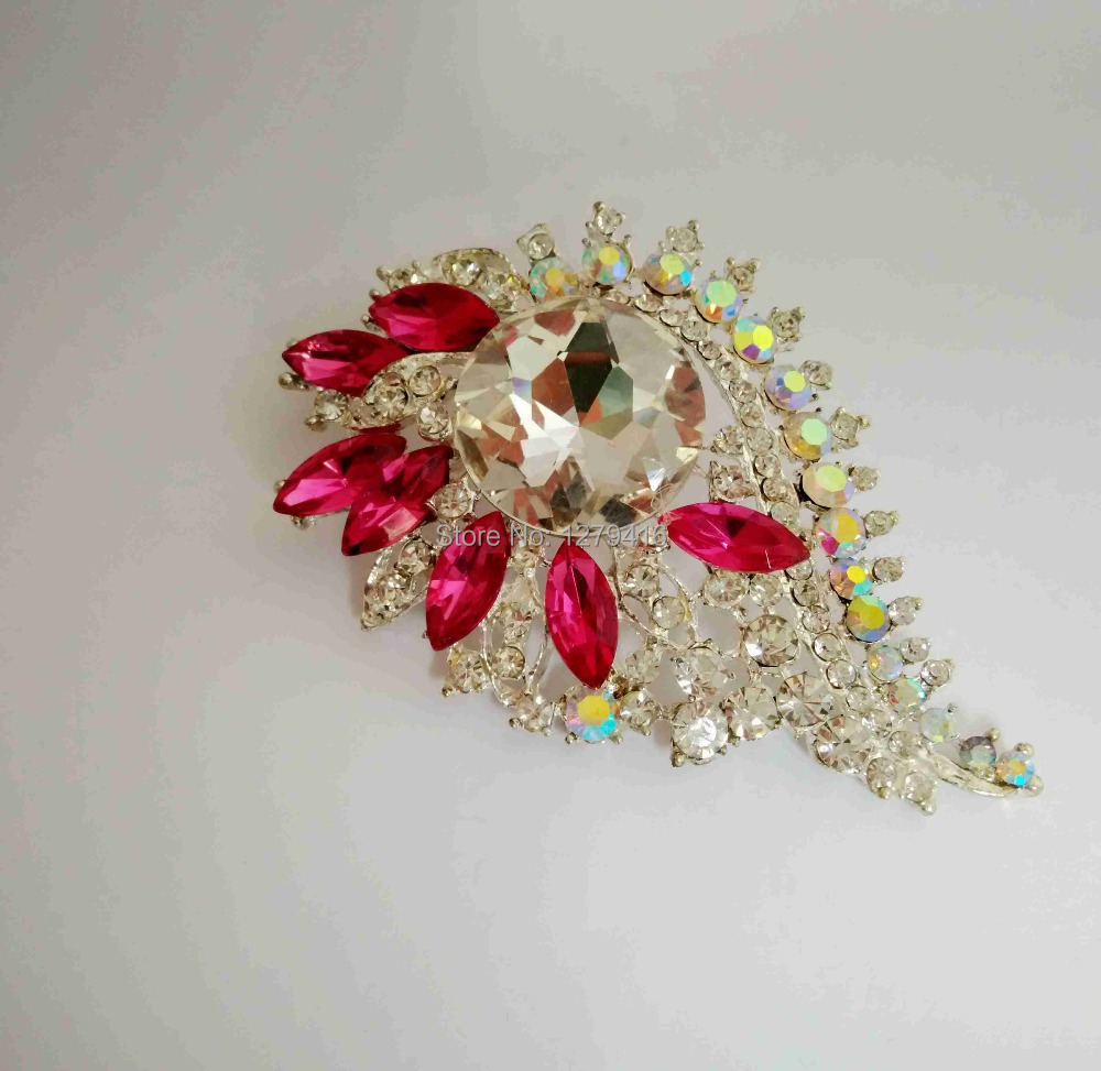 10piece/lot Beautiful Crystal Stone Zinc Alloy Brooches Brooch Pins can fit African jewelry set  AE0056<br>