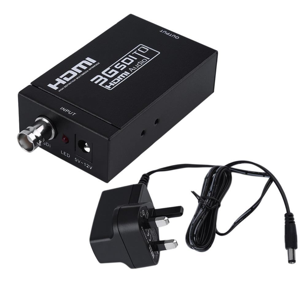 2016 wiistar Mini HD 1080P 3G hdmi to sdi Converter Box Support SD / HD-SDI / 3G-SDI Signals Showing HDMI hdmi2sdi SDI TO HDMI<br><br>Aliexpress