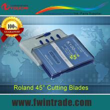 10pcs one lot !!!  4000-4200N/mm2  RO45 Roland cutting plotter blade 45 degree roland plotter knife(China (Mainland))