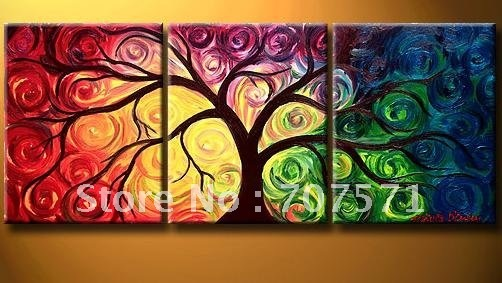Free Shipping!!High Quality Modern Abstract Oil Painting on Canvas Art group oil paintings home decoration EL975