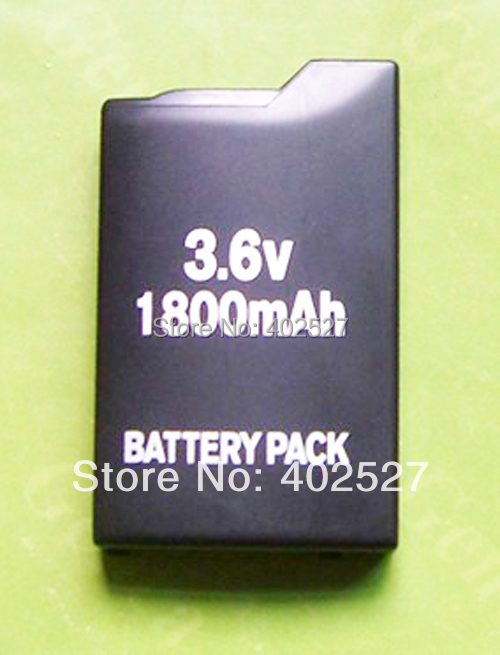 Free shipping New 1800mAh Battery Pack FORSony PSP 1004 1000 Fat 1003 Wholesale and Retail(China (Mainland))