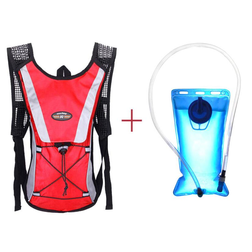 2L Water Bladder Bag TPU Backpack Hydration Packs Hiking Camping Cycling Convenient Package shoulder Nylon with inner Pocket(China (Mainland))