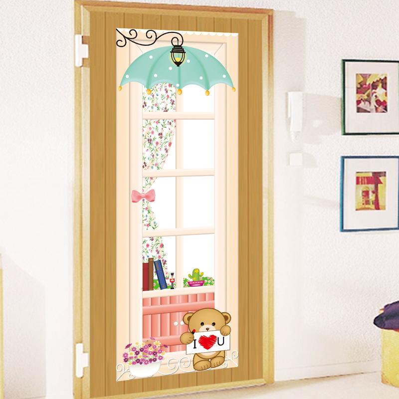 Как можно украсить дверь в комнату своими руками
