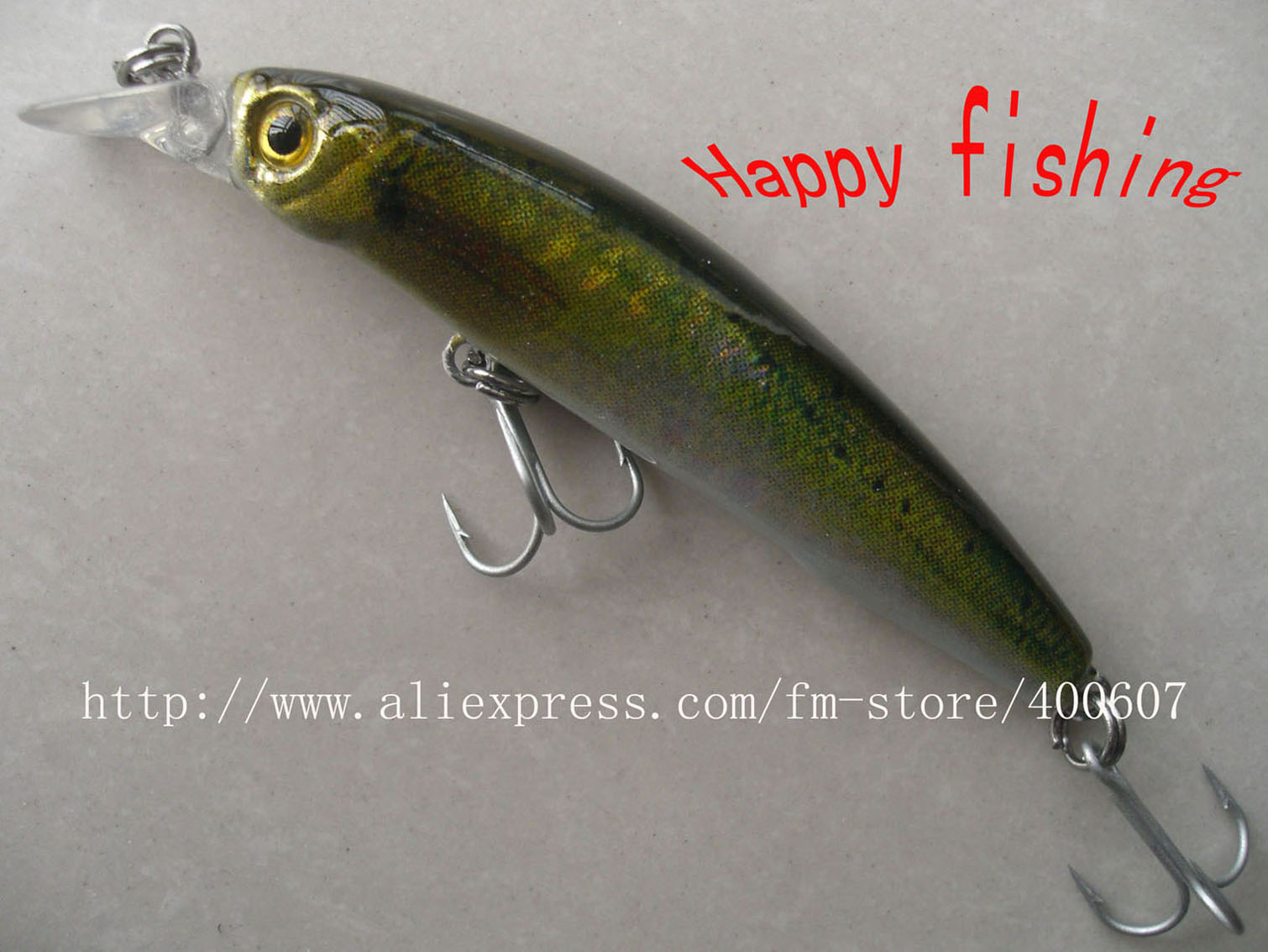 Japanese style bass terminator minnow fishing lure m85f for Japanese fishing lures