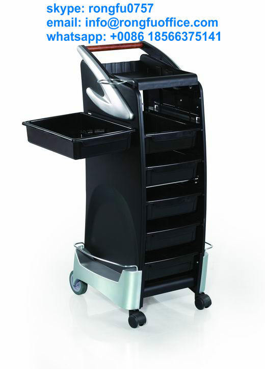 Luxury modern stronger hair salon trolley spa trolley with for A and s salon supplies