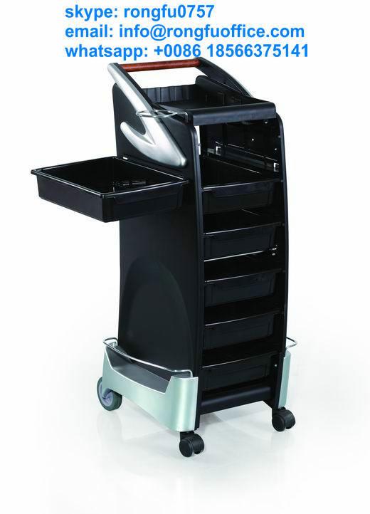 Luxury modern stronger hair salon trolley spa trolley with for Luxury beauty salon furniture