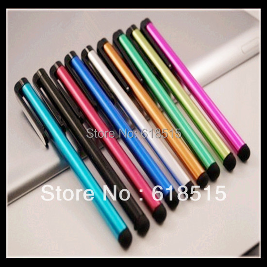10000pieces/lot Wholesale Replacement Stylus for iphone for Capacitance screen