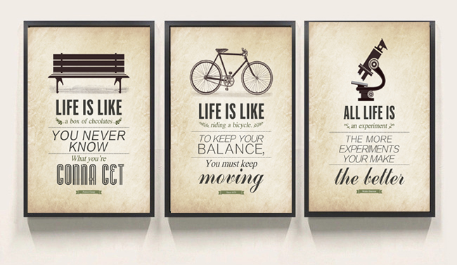 3 piece Modern Minimalist Bedroom Wall Art Black White Motivational  Typography Quotes Large Poster Print Canvas