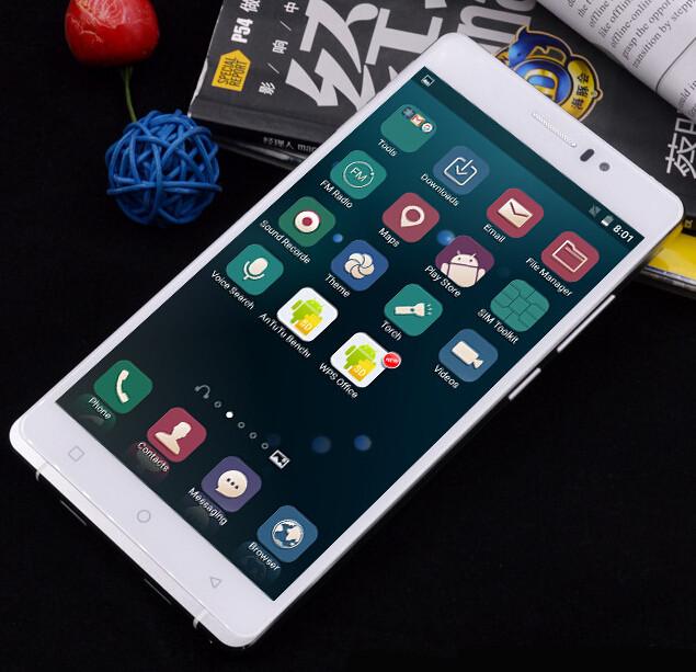 "Original X-BO O1 6"" Android 5.1 MTK6580 Quad Core Mobile Phone 1GB RAM 8GB ROM Unlocked 3G WCDMA QHD IPS 8MP CAM 3200mAh(China (Mainland))"