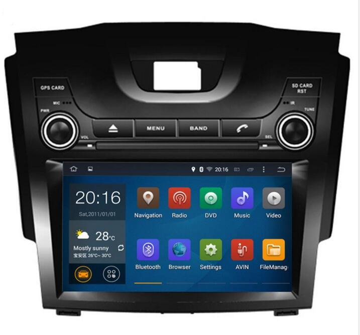 2016 NEW 8' 2 din Car DVD Player For Chevrolet S10 trailblazer Isuzu Dmax with GPS Navigation DVD head unit steering-wheel radio(China (Mainland))