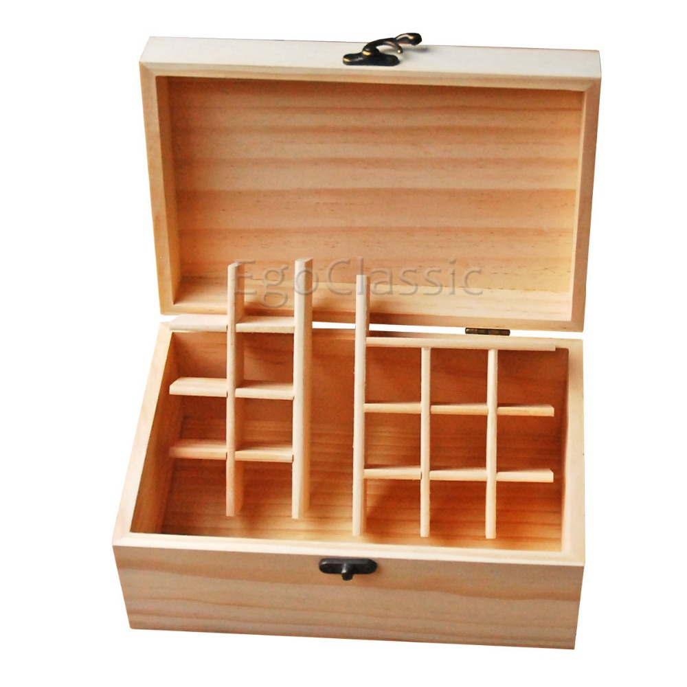 Free shipping wooden Essential Oils Storage Box Multifunction Combination Natural pine Handmade Customizable without paint(China (Mainland))