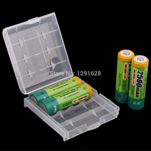 Free shipping 5pcs/set  Battery Storage Box For AA AAA Battery