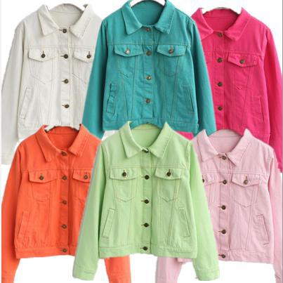 Colored Jean Jackets For Women - My Jacket
