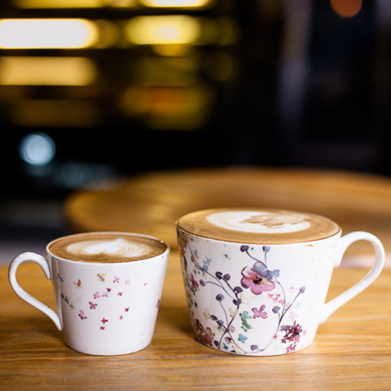 Zakka Ceramic Cups and Mugs Large Caliber Mug Coffee Cup Mugs Glass Parent-child Canecas Porcelain Cups Lovers cup Tazas Cafe(China (Mainland))