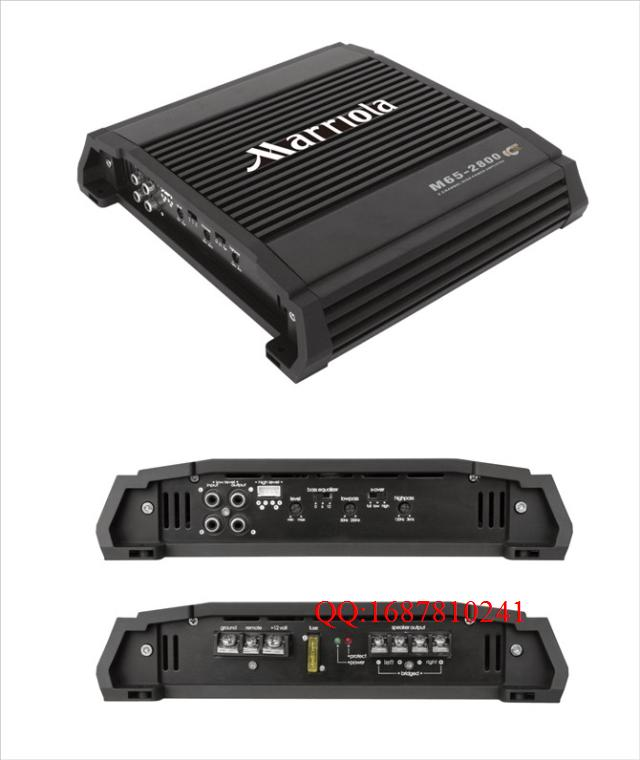 how do you hook up two car amps Now you will need to connect the negative terminal of your amplifier to the chassis ground of your vehicle any metal point on the vehicle should work since they all lead back to the negative terminal of the battery.