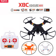 SYMA X8C 2.4Ghz 6-Axis Gyro RC Quadcopter Drone UAV RTF UFO 2MP HD Camera Wide Angle RC Quadcopter Remote Control Helicopter(China (Mainland))