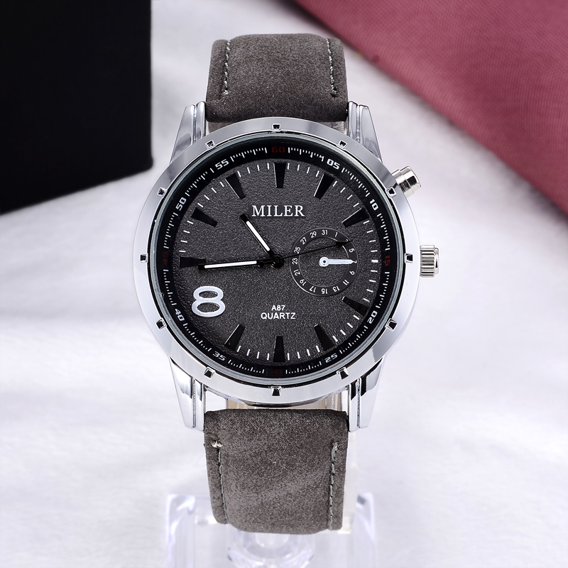 MILER Luxury Brand Watch Fashion Sports Watches Men Military Quartz Wrist Watch Hombre Casual Watch Clock