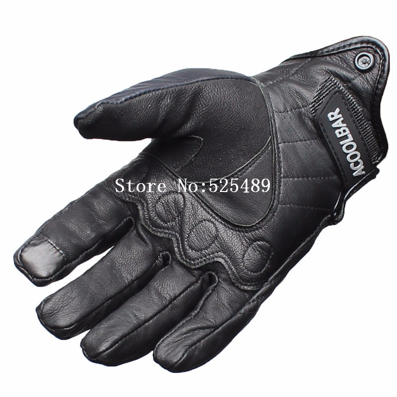 New Brand Genuine Leather Waterproof Motorcycle Gloves Motocross Racing Gloves Motorbike Gloves Outdoors Protective Gears Gloves