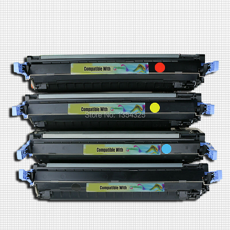4PC Lot Compatible CP3505 color toner Cartridge For HP Q6470A Q7580A Q7581A Q7582A Q7583A 501A 503A