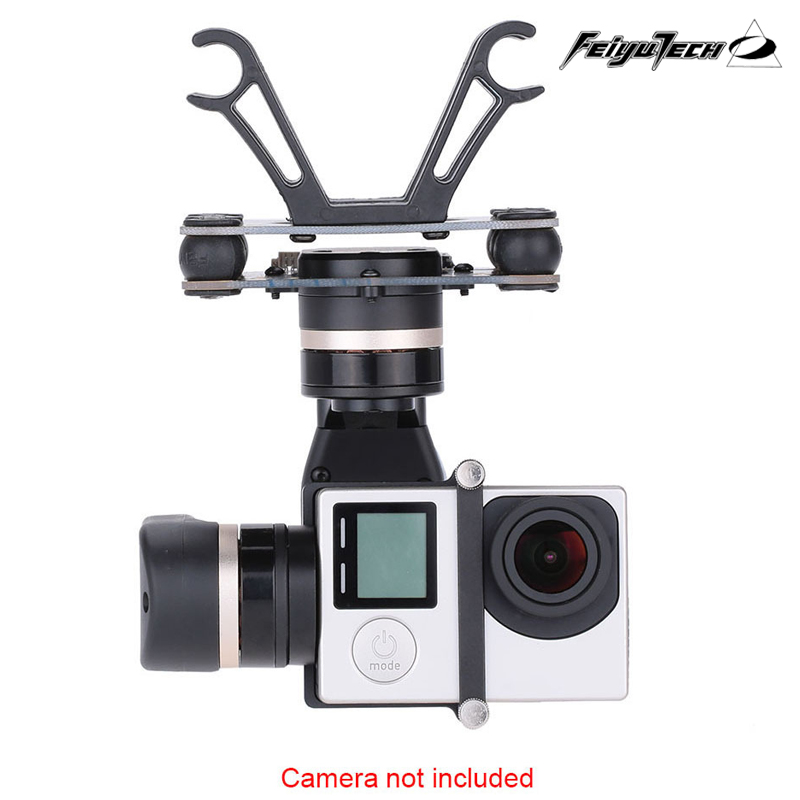 Free Shipping FeiYu Tech Newest 3 axie gimbal for aircraft / FY-Mini 3D brushless gimbal for DJI Phantom 2 multicopter car<br><br>Aliexpress